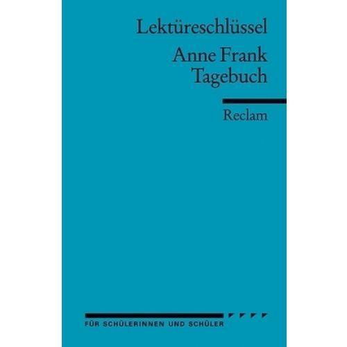 Lektüreschlüssel Anne Frank 'Tagebuch' Feuchert, Sascha