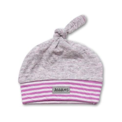 Juddlies city czapka rosedale pink