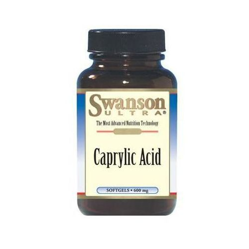 Swanson, usa Swanson kwas kaprylowy (candida) 60 kaps.