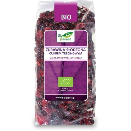 Żurawina słodzona cukrem trzcinowym BIO 400g, 1198