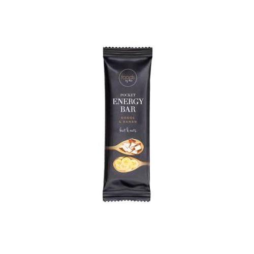 Pocket energy bar kokos & banan marki Foods by ann