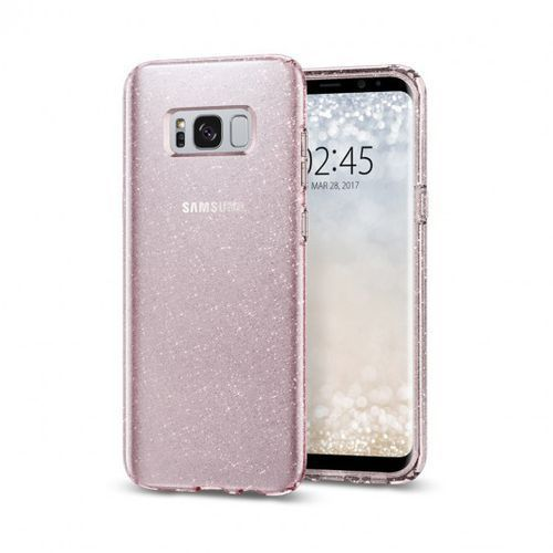 Spigen Liquid Crystal Glitter 571CS21667 Samsung Galaxy S8+ (rose quartz)