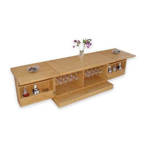 Ława z mini-barem z drewna świerkowego Mexicana 6 - produkt z kategorii- stoliki i ławy
