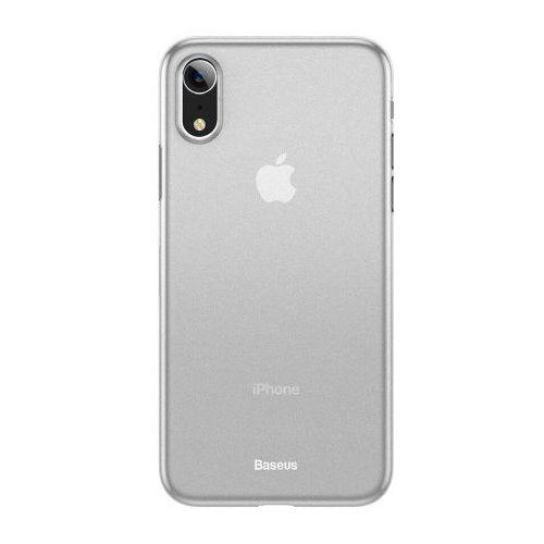 Baseus Wing Case Etui iPhone XR Białe, kolor biały