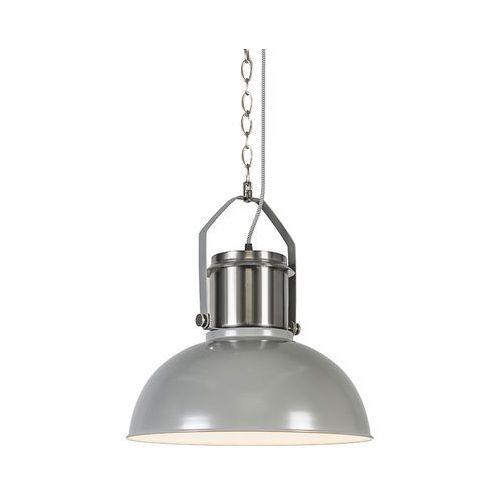 Przemysłowa lampa wisząca szara - przemysłowa 37 marki Qazqa