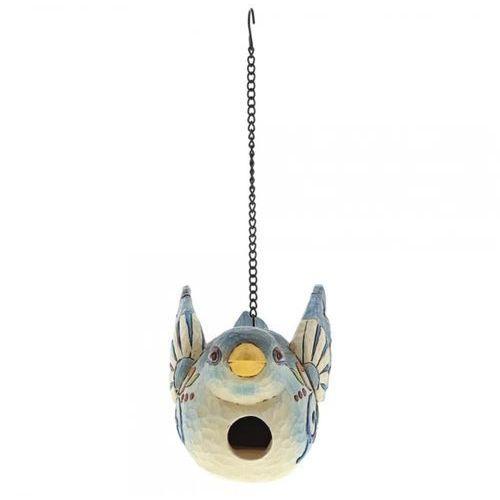 Ptaszek budka lęgowa bluebird birdhouse 6001606 królik vintage biały marki Jim shore