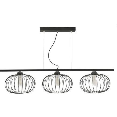 Lampa wisząca LED druciana trzy klosze