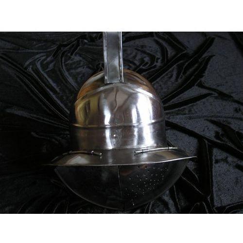 Płatnerze hiszpańscy Hełm rzymskiego gladiatora z osłoną twarzy