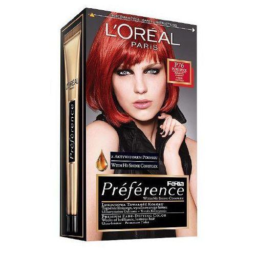 L'OREAL Feria Preference farba do wlosow P76 Plomienna Czerwien - oferta [2557dbaa0f23b799]