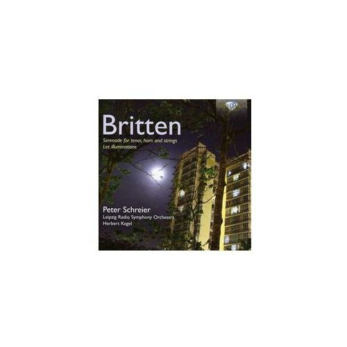 Brilliant classics Britten: les illuminations op. 18, serenade op. 31 - 35% rabatu na drugą książkę! (5028421947280)