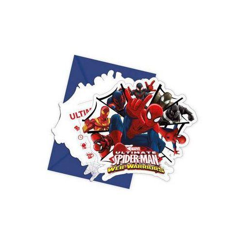 Procos Zaproszenia spiderman ultimate, 6 sztuk. - godan od 24,99zł darmowa dostawa kiosk ruchu