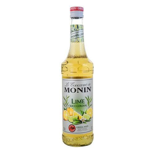 Monin Syrop limonka lime juice - cordial mixer 700ml