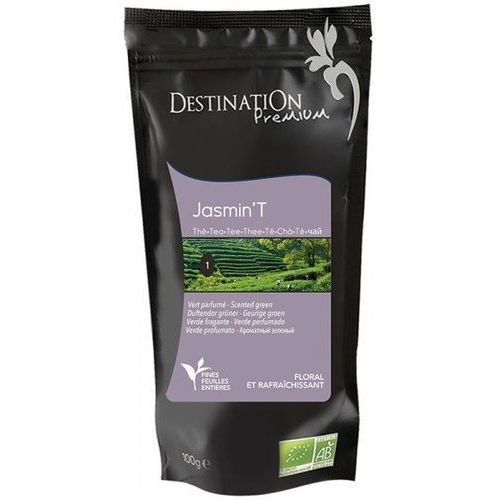 Herbata Zielona Jaśminowa Chiny 100g - Destination