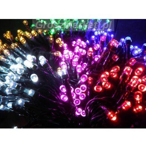 Lampki choinkowe LED 100 programator i łączenie z kategorii ozdoby świąteczne