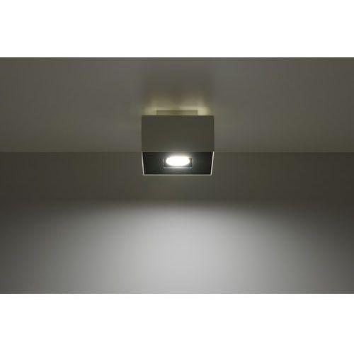 Sollux Plafon mono 1 biały