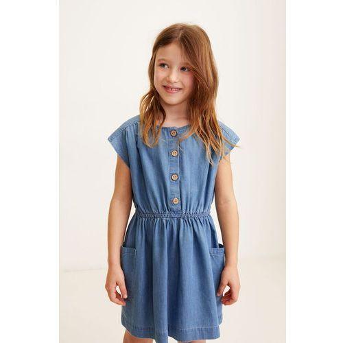 901346ed96 Mango Kids - Sukienka dziecięca Blue 110-164 cm 99