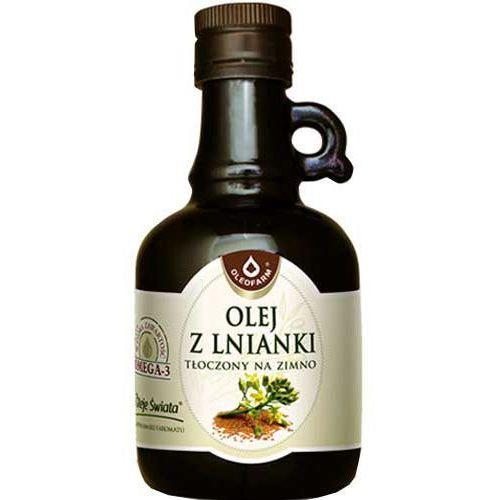 Oleofarm Olej z lnianki (rydzowy) tłoczony na zimno 250ml