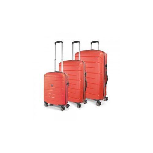 4ae29fb1d586a Modo by roncato Komplet walizek z kolekcji starlight 2.0 zestaw duża +  średnia + mała/ kabinowa 4 koła materiał polipropylen zamek szyfrowy tsa  949,00 zł ...