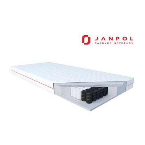 JANPOL WENUS - materac kieszeniowy, sprężynowy, Twardość - średni, Rozmiar - 80x200, Pokrowiec - Smart NAJLEPSZA CENA, DARMOWA DOSTAWA