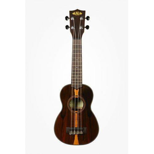 ziricote ukulele sopranowe + case (uc-s) marki Kala