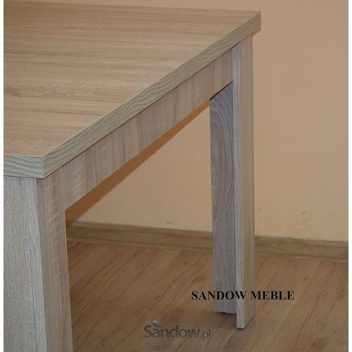 Zestaw do jadalni stół S-44 80/120/165 z 6 krzesłami Boss XIV TANIO z kategorii zestawy mebli kuchennych