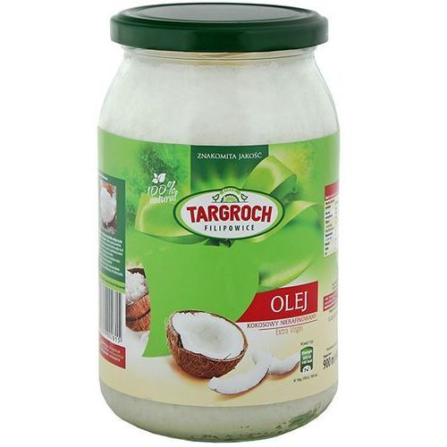 Olej kokosowy nierafinowany 100% naturalny 500ml (Oleje, oliwy i octy)