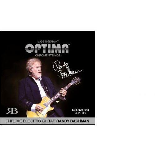 Optima 4028rb (674678) struny do gitary elektrycznej chrome strings round wound randy bachman signature komplet
