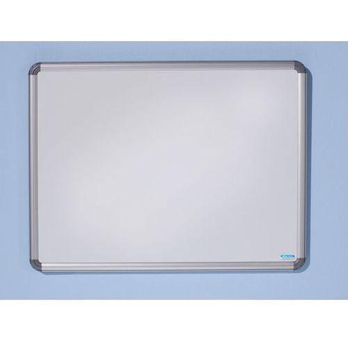 Tablica ścienna design, lakierowanie na kolor biały, szer. x wys. 600x450 mm. po marki Office akktiv