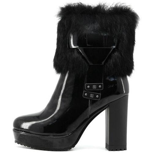 Laura biagiotti buty za kostkę damskie 39 czarny