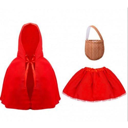 Zestaw, strój Czerwonego Kapturka