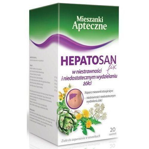 Herbapol lublin Hepatosan (cholagoga ii) zioła fix 2g x 20 saszetek