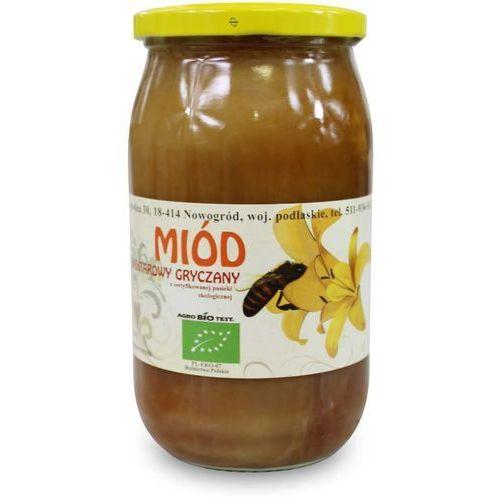 Miody Sznurowski: miód gryczany BIO - 1,1 kg (5907814668325)