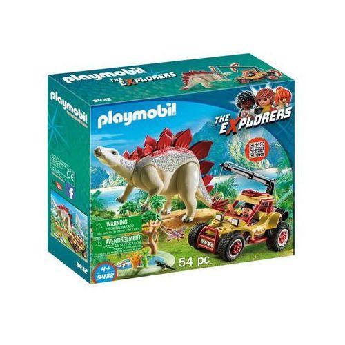 Playmobil Pojazd badawczy ze stegozaurem - the explorers 9432