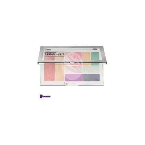 Maybelline city kit palette (w) paleta do makijażu twarzy 1 urban light 12g