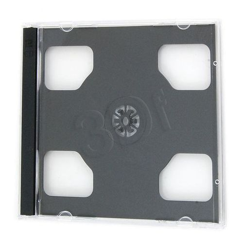 PUDEŁKO NA 2SZT CD JEWEL CASE BLACK KARTON 200szt Darmowy odbiór w 16 miastach! (pudełko i etui na płytę)
