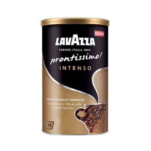 Lavazza 95g prontissimo intenso włoska kawa rozpuszczalna 100% arabica import
