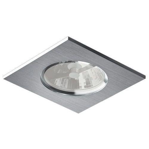 Bpm lighting Oczko kwadratowe su classic aluminium szczotkowane gu10 ip65, 3024gu