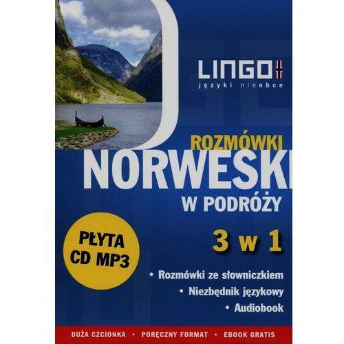 Norweski w podróży Rozmówki 3 w 1 + CD - Wysyłka od 3,99, Krepsztul Izabela