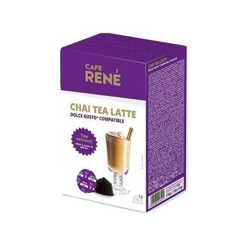 Kapsułki dolce gusto Rene chai tea latte (herbata z mlekiem i przyprawami korzennymi) kapsułki do dolce gusto – 16 kapsułek (5902480016401)