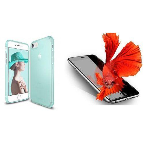 Zestaw | Rearth Ringke Slim Frost Mint | Obudowa + Szkło ochronne Perfect Glass dla modelu Apple iPhone 7