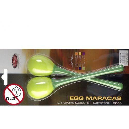 Stagg egg ma l/gr - marakasy plastikowe zielone
