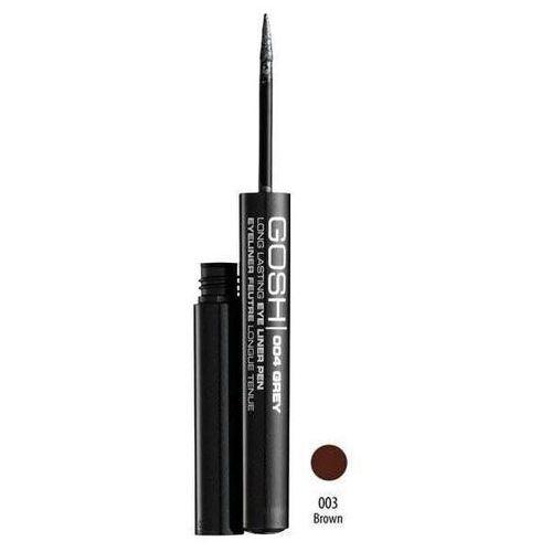 Gosh long lasting eye liner pen, długotrwały eyeliner w płynie, 1.8ml