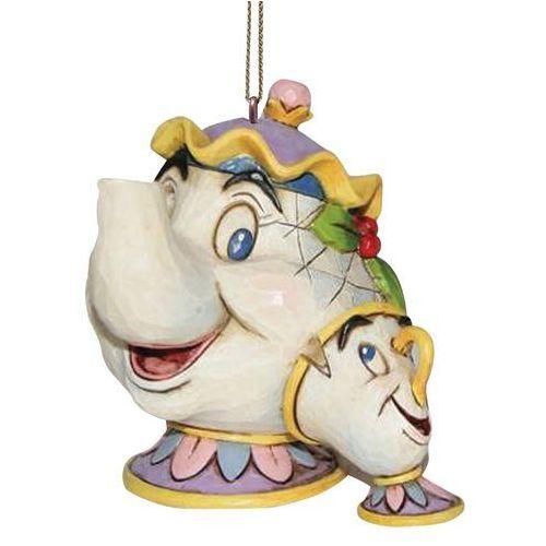 Zawieszka Pani Imryk bajka Piękna i Bestia Mrs Potts & Chip Hanging Ornament A21431 Jim Shore figurka ozdoba świąteczna