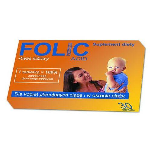Tabletki FOLIC 30 tabletek