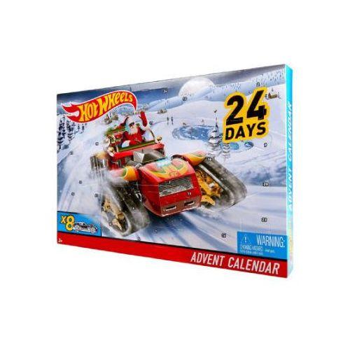 Mattel - kalendarz adwentowy 2017 marki Hot wheels