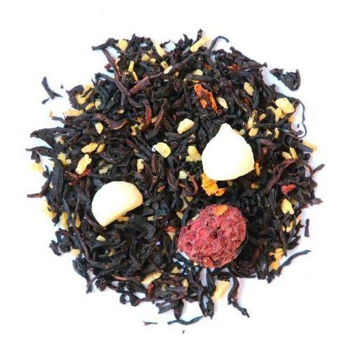 Herbata czarna smakowa malinka na torcie 120g