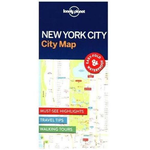 Lonely Planet New York City Map (2016)