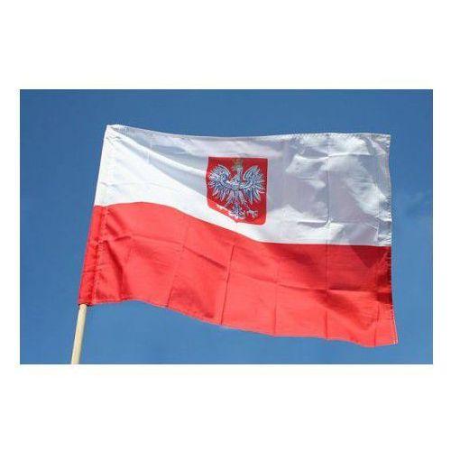 Polska Flaga Narodowa z godłem (20003418)