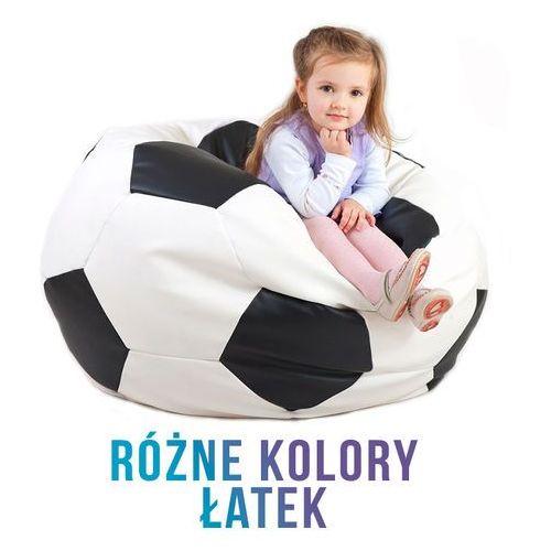 Polskie pufy , pufa - piłka football xxl eko-skóra