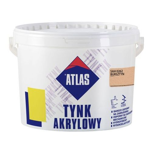 Tynk akrylowy Atlas SAH 0262 bursztyn 25 kg, W-TC052-H0262-AT8Y